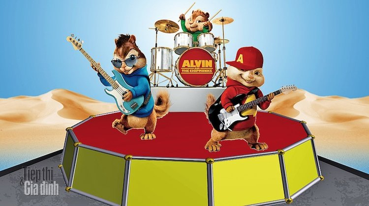 Alvin and the Chipmunks hinh anh