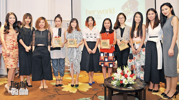 Her World Young Woman Achiever 2016 hinh anh 1