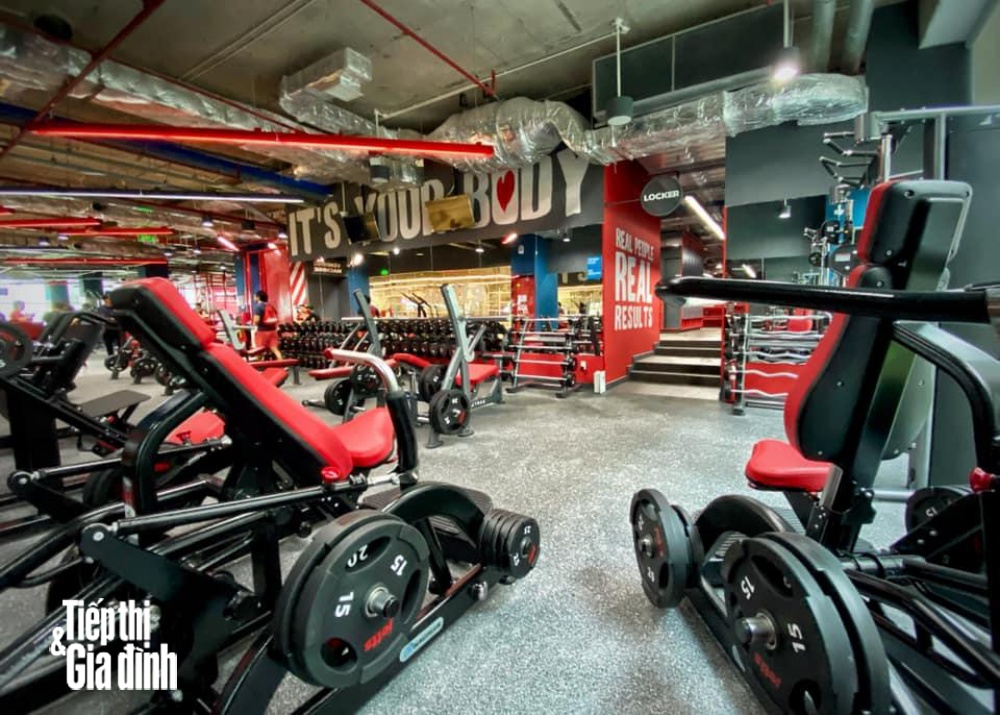 phòng tập jetts fitness
